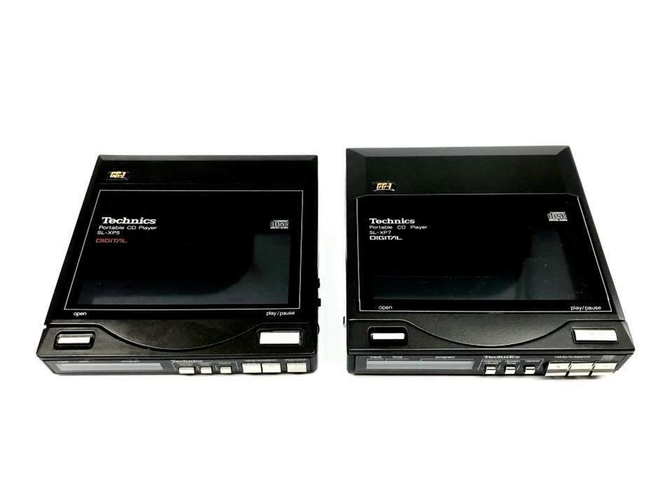Technics SL-XP5, SL-XP7 Comparison