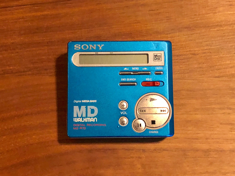 Sony MZ-R70 MD Recorder