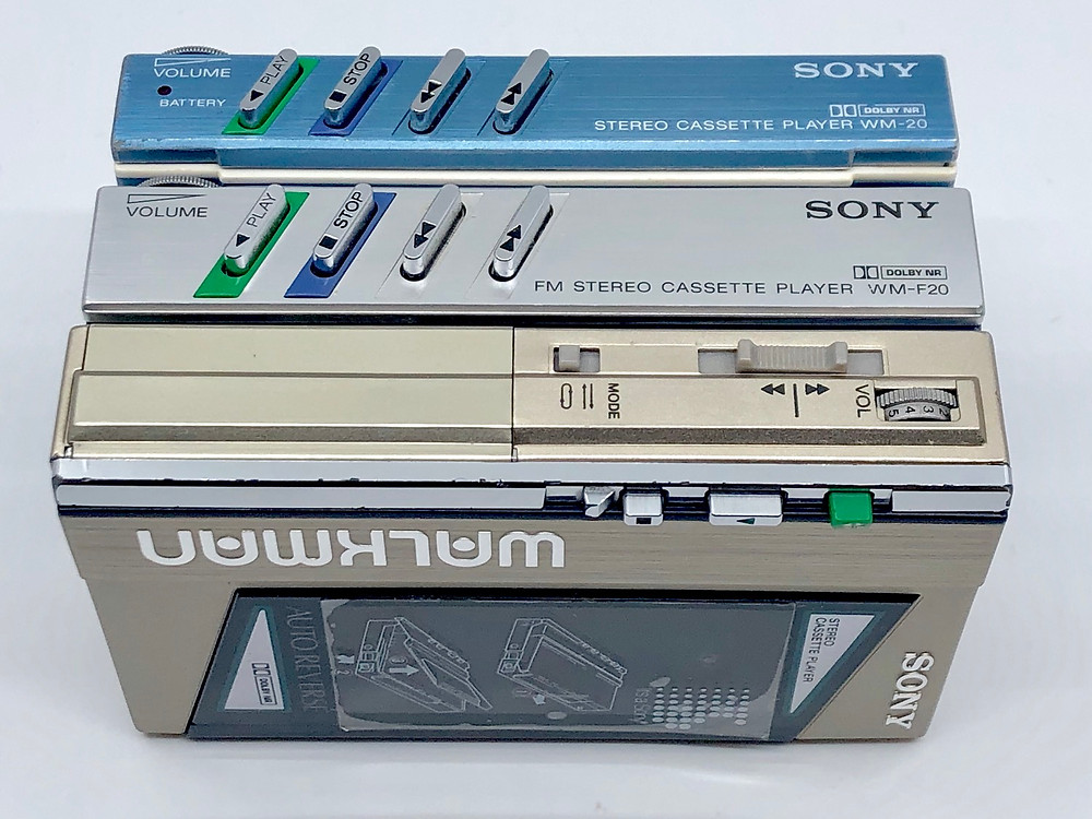 Sony Walkman WM-10, WM-20, WM-30, WM-40, WM-Fx Series Comparison