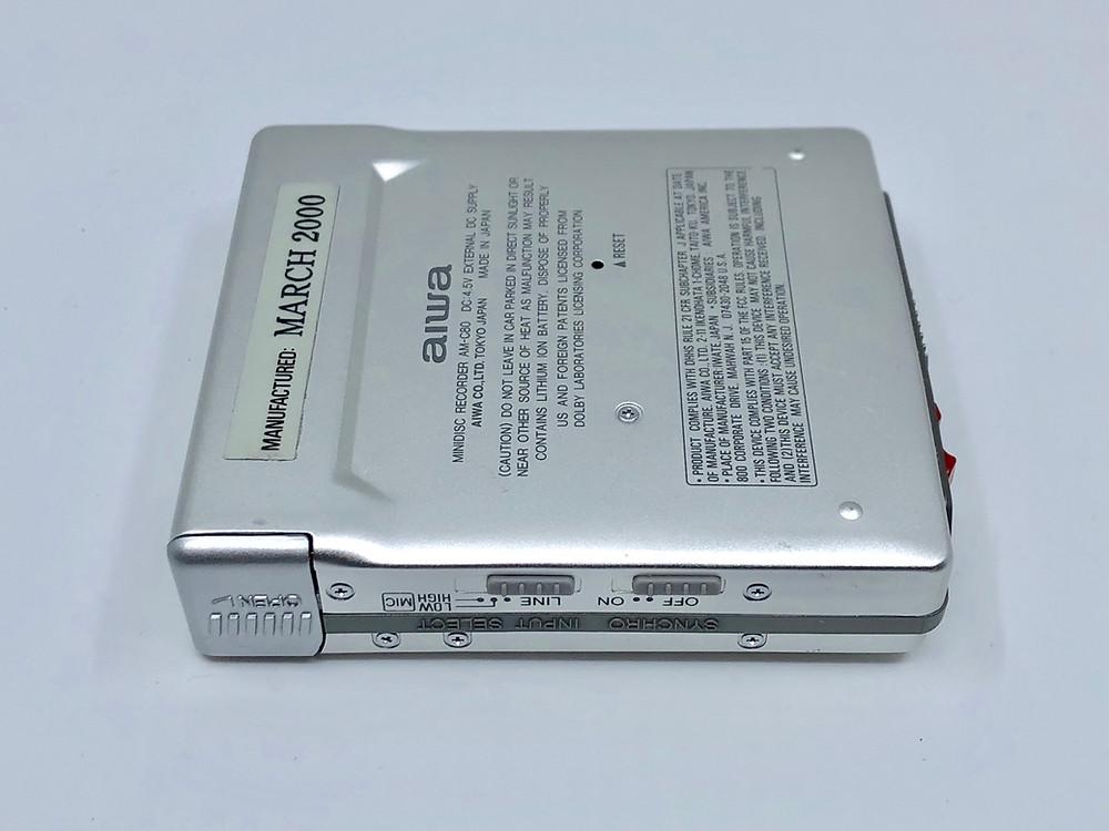 Aiwa AM-C80 MiniDisc MD Recorder