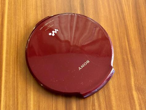Sony CD Walkman D-NE20 Red