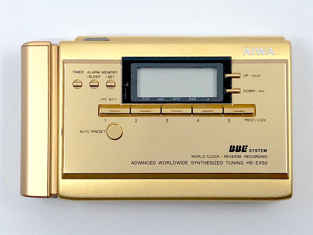 AIWA HS-EX50 10th Anniversary Japan Only Special Edition
