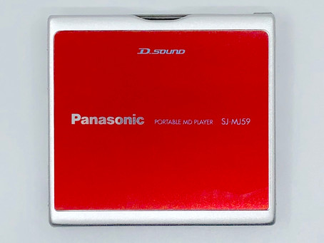 Panasonic SJ-MJ59R Red MiniDisc Player
