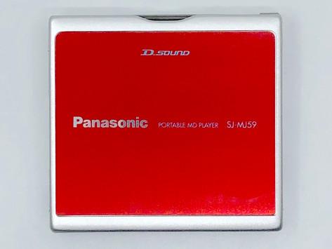 Panasonic SJ-MJ59R Red MiniDisc Player