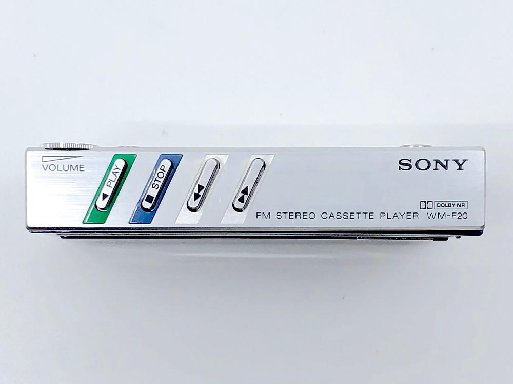 Sony Walkman WM-20 Blue Portable Cassette Player