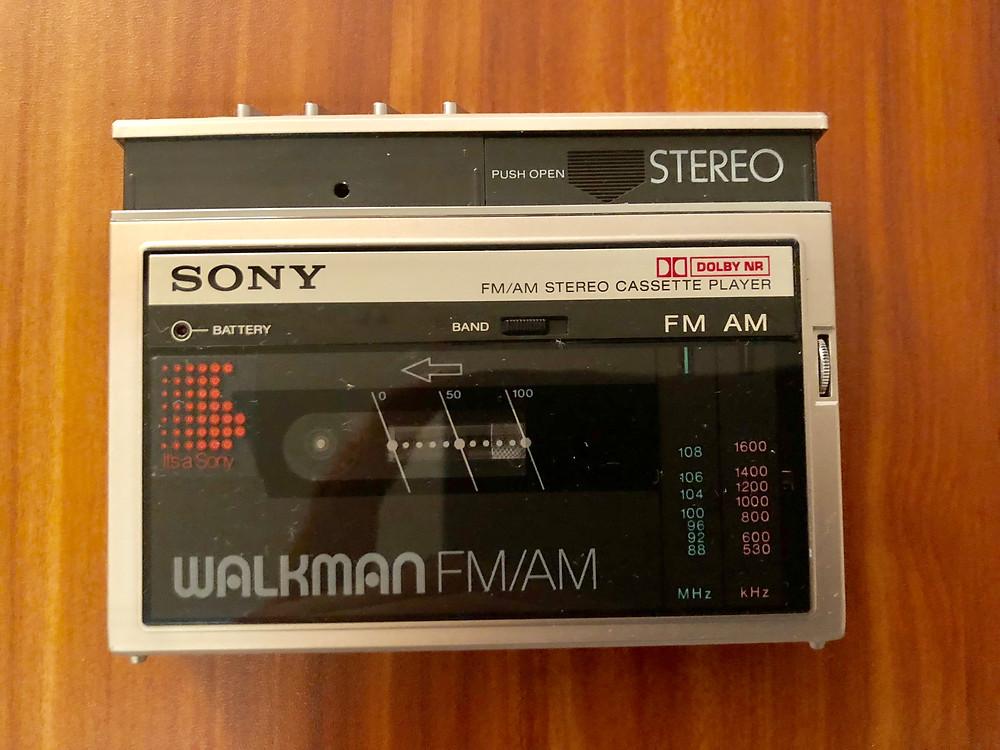Sony Walkman WM-F10II Portable Cassette Player