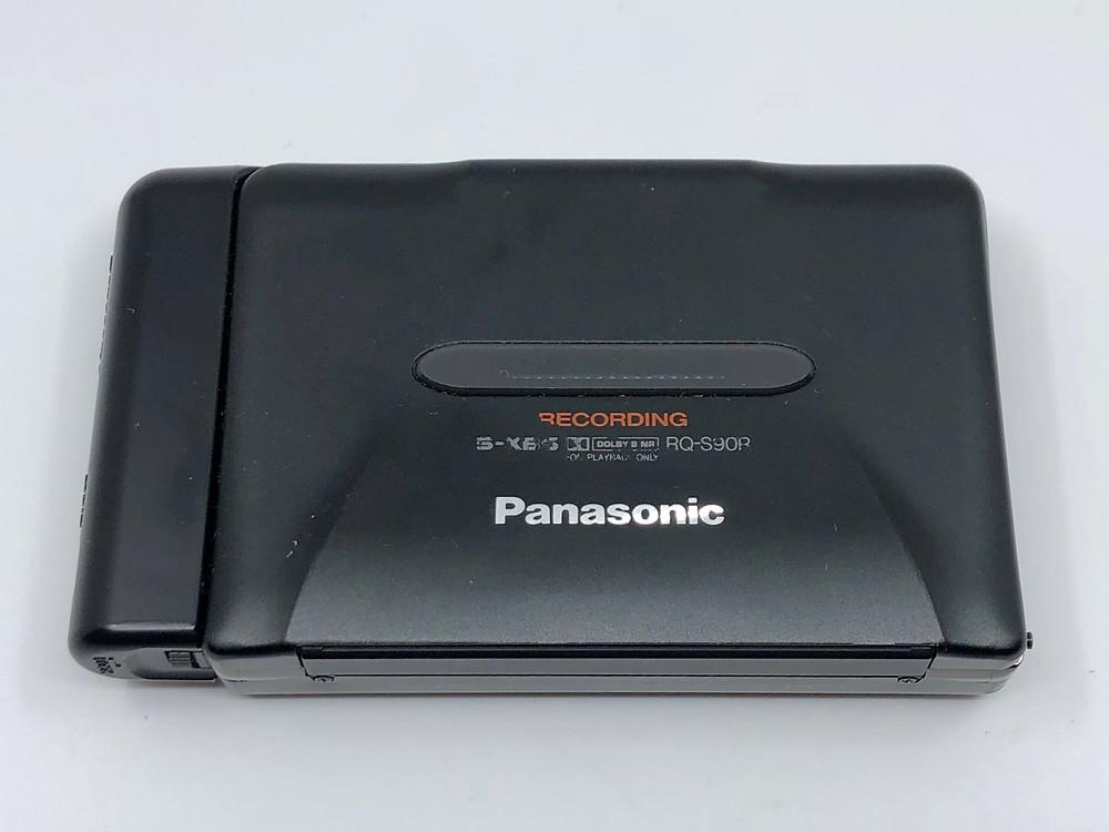 Panasonic RQ-S90R Portable Cassette Recorder