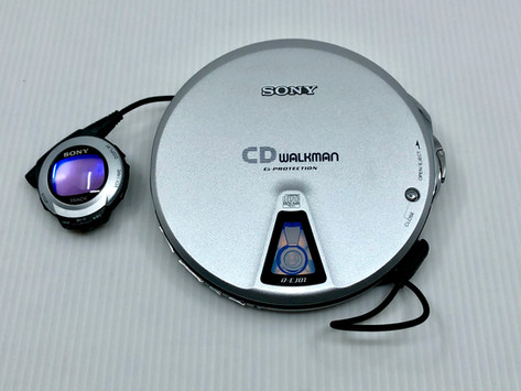 Sony CD Walkman D-EJ01 Portable CD Player