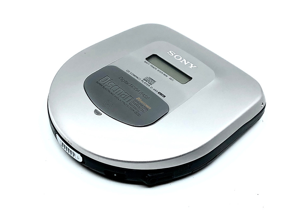 Sony Discman D-465 Portable CD Player