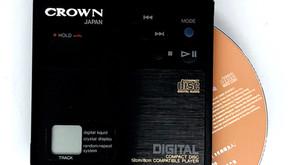 Crown CD-10 8cm Portable Mini CD Player