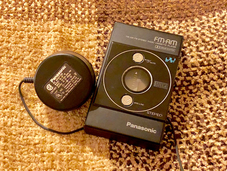 Panasonic RS-S40 DD Portable Cassette Player with AM FM Radio