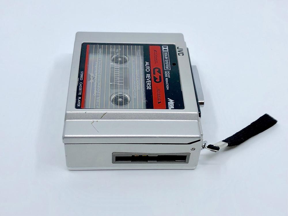 JVC CQ-22K Portable Cassette Player