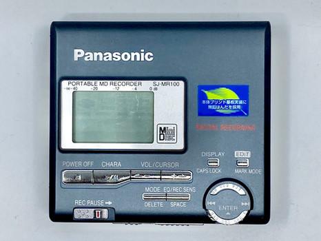 Panasonic SM-MR100 MiniDisc Recorder Black