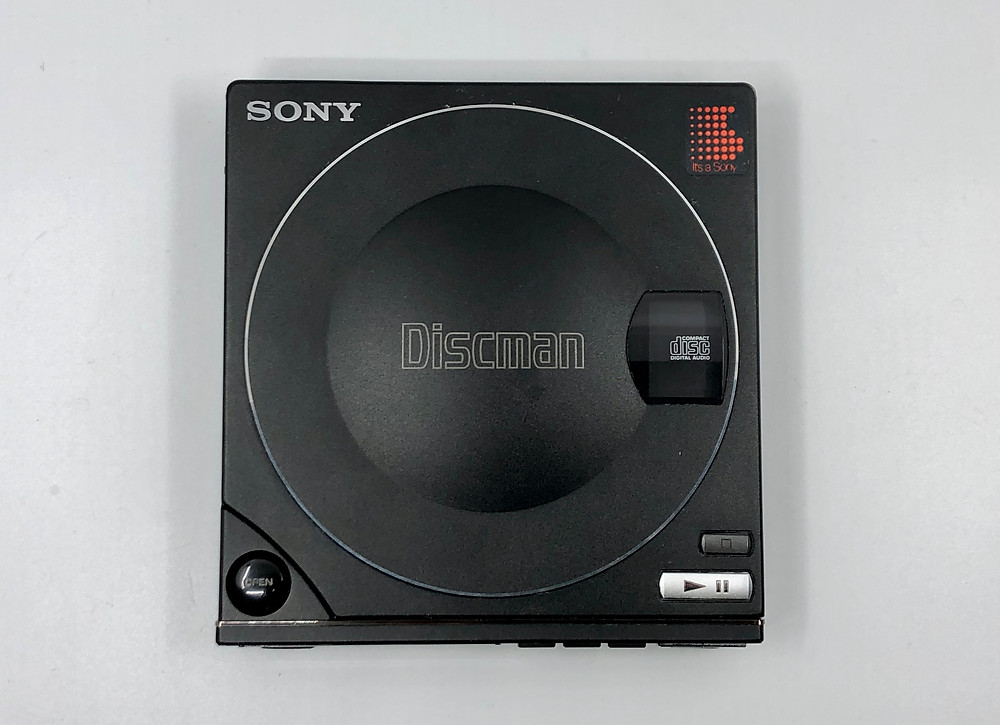 Sony Discman D-100 Portable CD Player