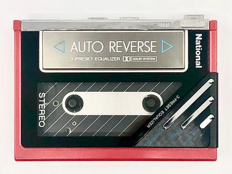 National RQ-JA5 Portable Cassette Player