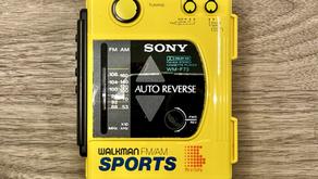Sony Sports Walkman WM-F73 Yellow