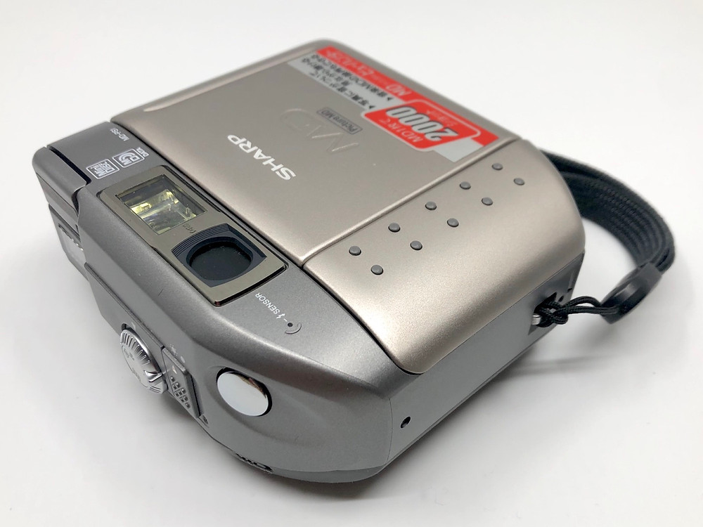 Sharp MD-PS1 MD Digital Camera and MiniDisc Player Recorder