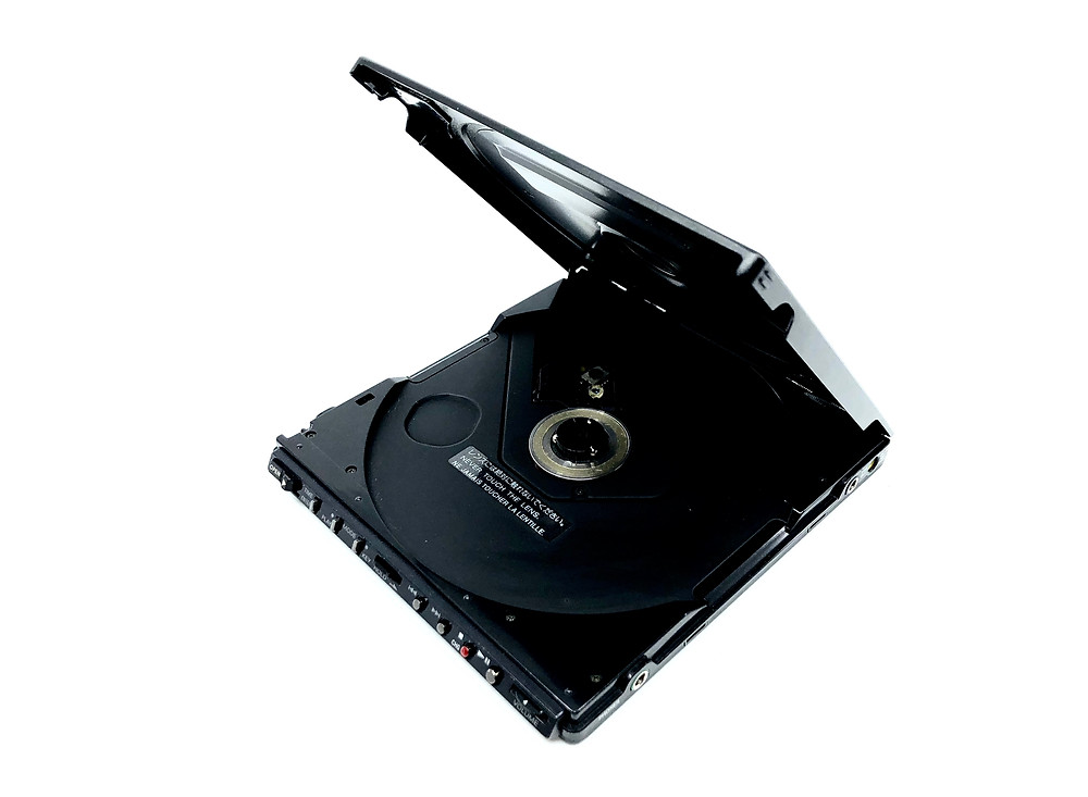 Sony Discman D-J50 Portable CD Player