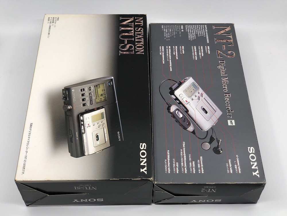 Sony NT Station NTU-S1 and NT-2 Digital Micro Recorder