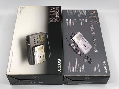 Sony NT Station NTU-S1 and NT-2 Digital Micro Recorder
