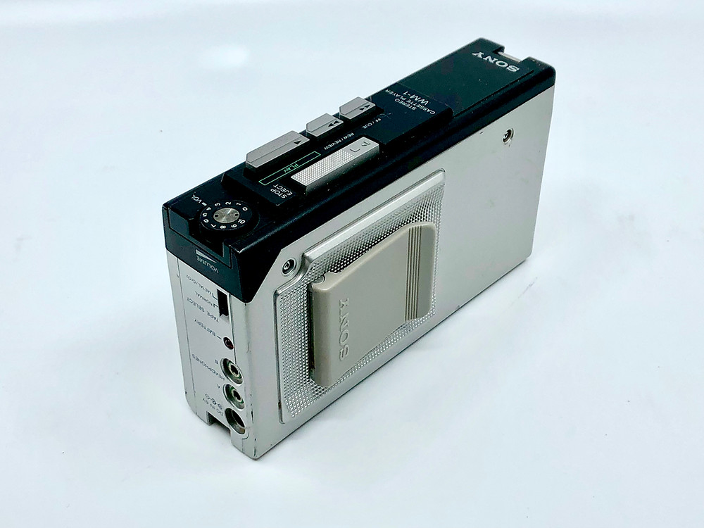 Sony Walkman WM-1 Portable Cassette Player