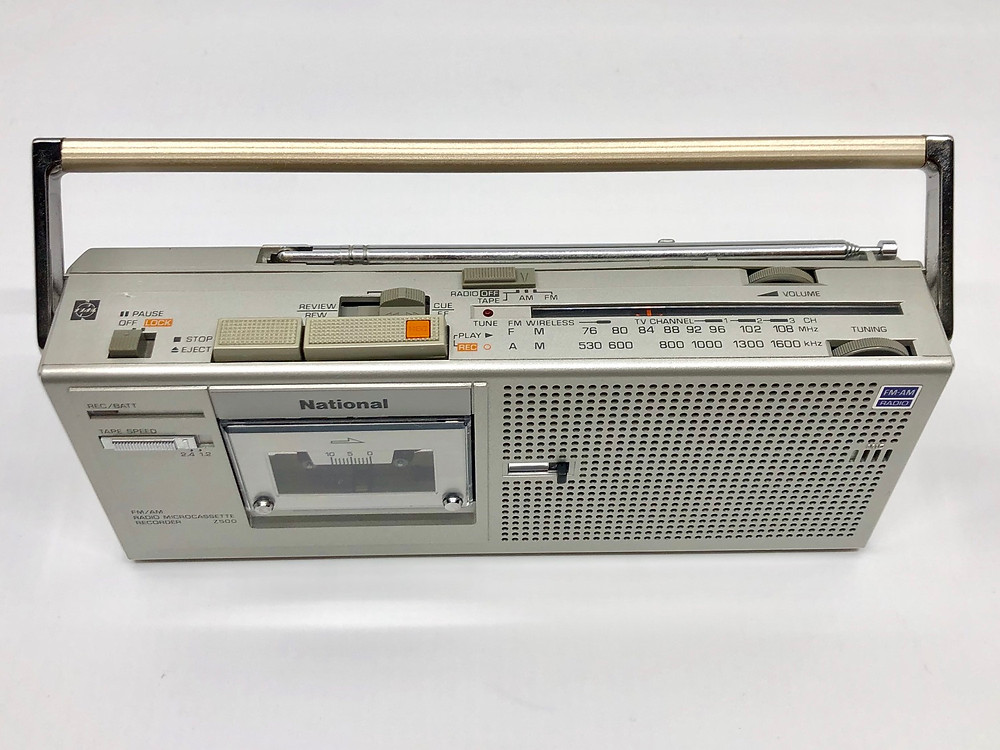 Panasonic RN-Z500 Micro-Cassette Recorder with FM AM Radio