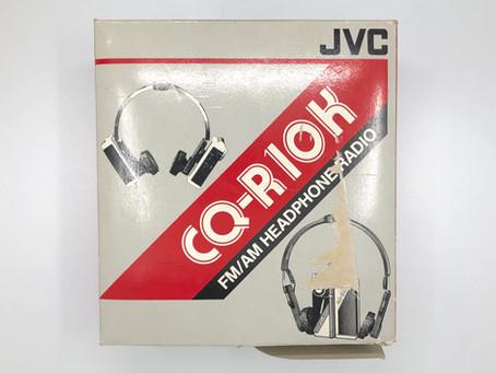 JVC CQ-R10K FM/AM Headphone Radio