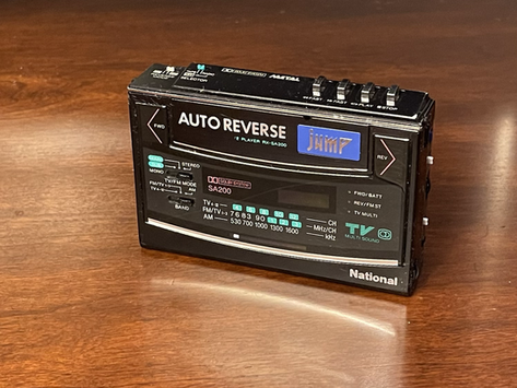 National SA200 JUMP Cassette Player