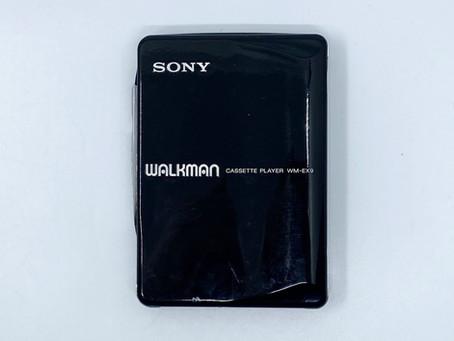 Sony Walkman WM-EX9 Black Portable Cassette Player
