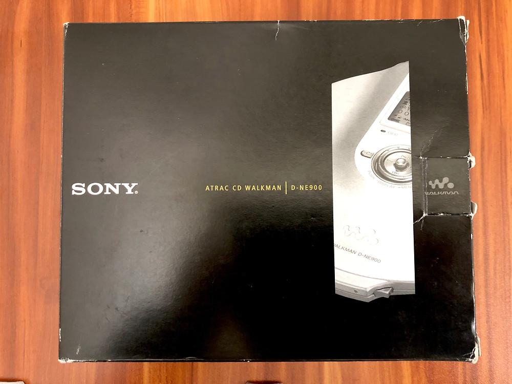 Sony CD Walkman D-NE900 Black Portable CD Player