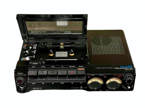 Sony TC-D5M TC-D5ProII Professional Portable Recorder