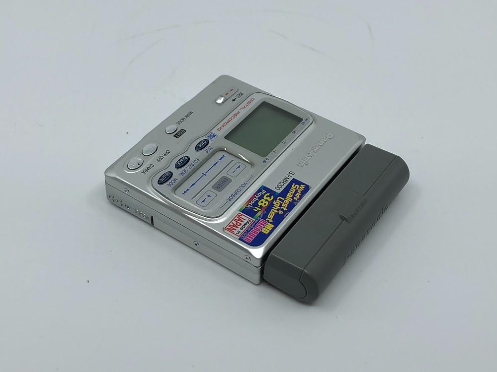 Panasonic SJ-MR200 MD Recorder