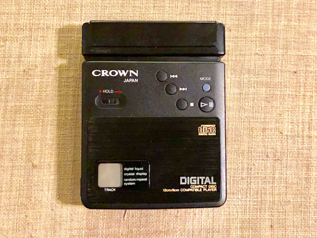 Crown CD-10 Portable CD Player