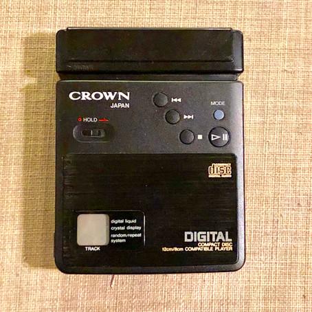 Crown CD-10 Portable CD Player