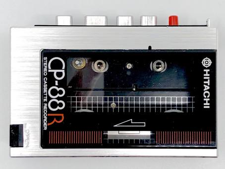 Hitachi CP-88R - The World's Smallest Portable Cassette Recorder