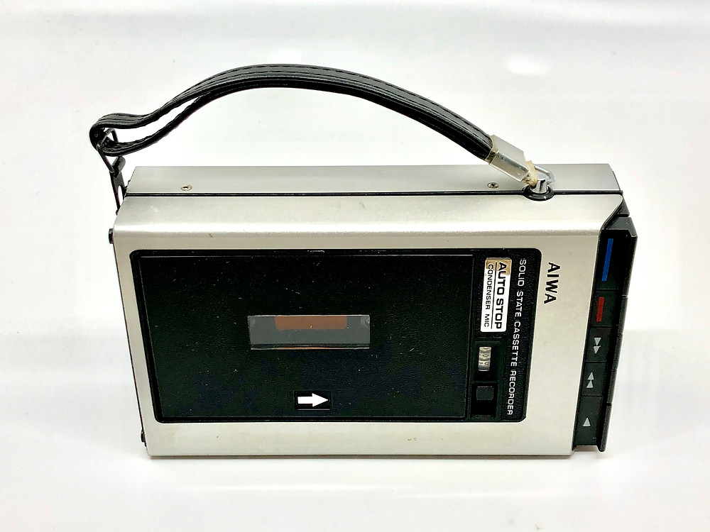 Aiwa TP-747 Portable Cassette Recorder