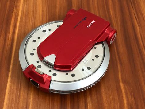 Sony D-VM1 Red Portable DVD CD Player