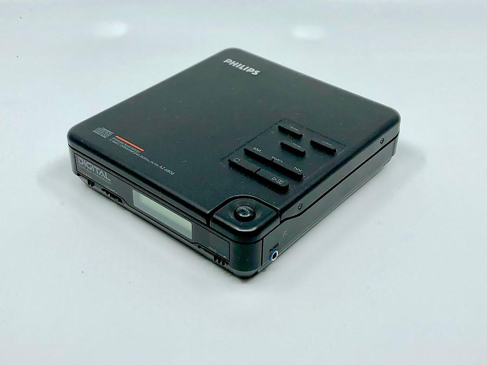 Philips AZ6806 Portable CD Player