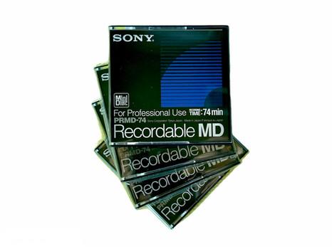 Sony PRMD-74 Professional Blank MD Disc