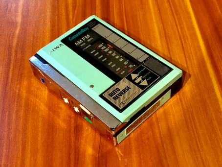 Aiwa HS-U7 Green Portable Cassette Player