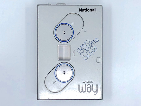 National WorldWay Portable Stereo Cassette Player