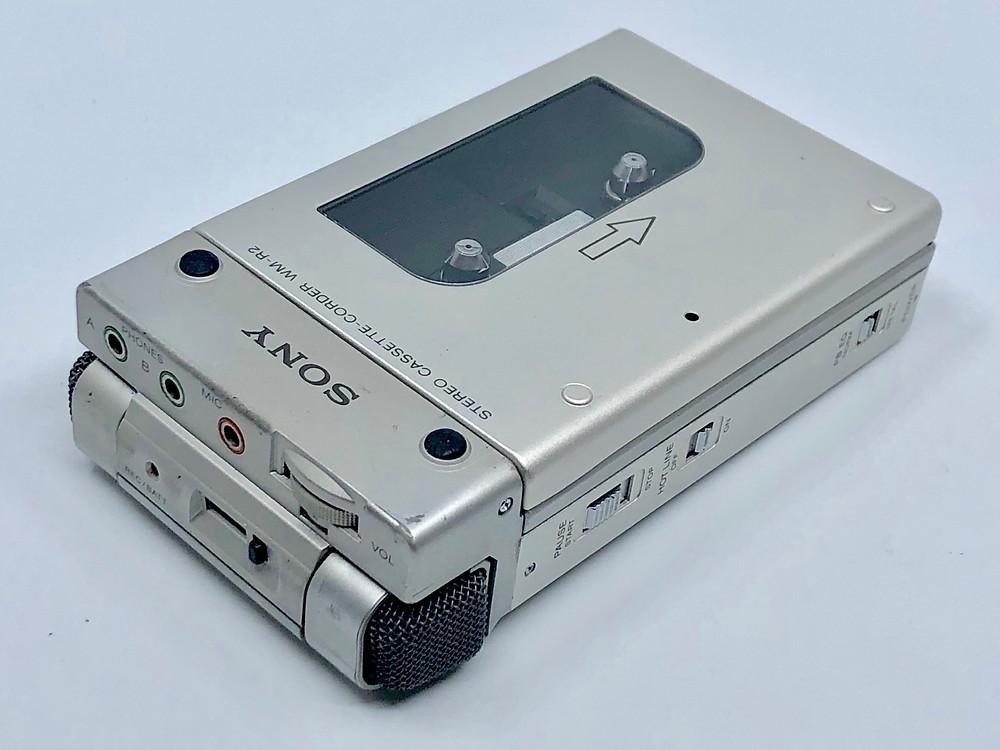 Sony Walkman WM-R2 Silver Portable Cassette Recorder