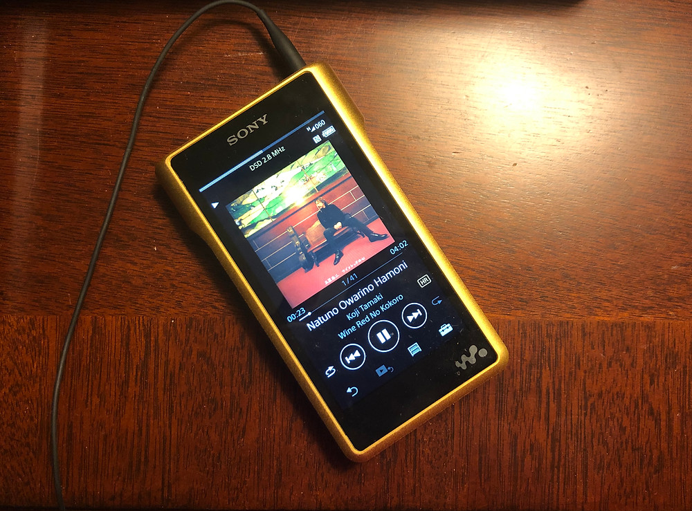Sony NW-WM1Z HiRes Digital Music Player