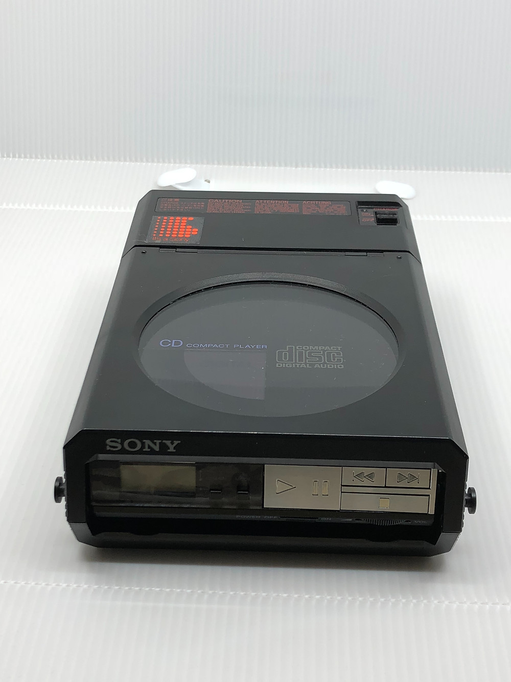 Sony Discman D-5 Black Portable CD Player