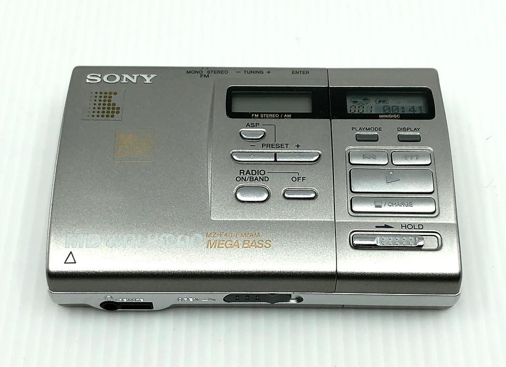 Sony MZ-F40 MD Recorder