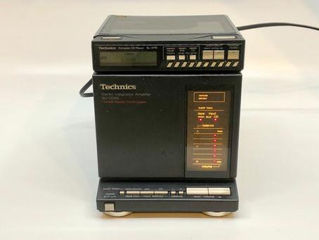 Technics SU-CD50 Amplifier and SL-XP8 CD Player Mini System