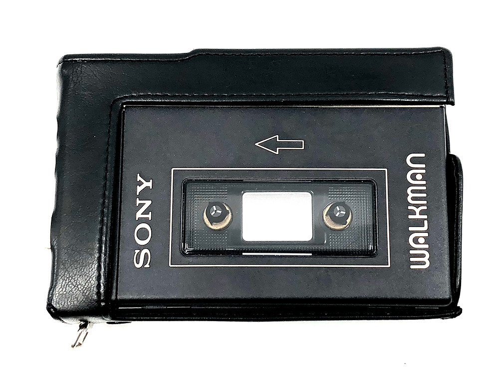 Sony Walkman WM-3 Deluxe Portable Cassette Player