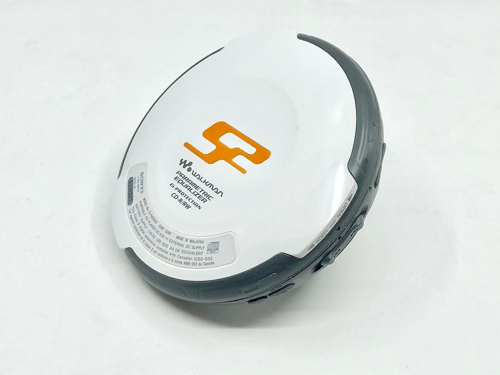 Sony Walkman D-NS505 White Portable CD Player