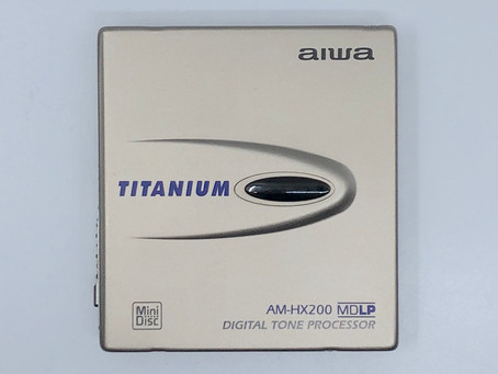Aiwa AM-HX200 Titanium MiniDisc Player