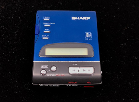 Sharp MD-M11 Blue MD Recorder